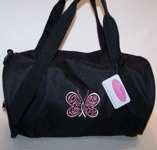 Awareness Ribbon Hope Butterfly Custom Sports Gym Duffel Bag