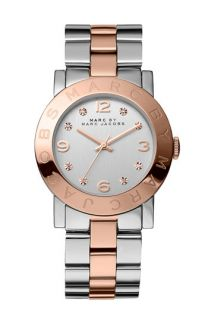MARC BY MARC JACOBS Amy Crystal Bracelet Watch