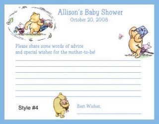 Classic Pooh Baby Shower Game Package 1