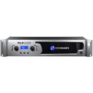 Crown Audio XLS 1000 1100W 2 Channel DriveCore PRO Power Amplifier/Amp