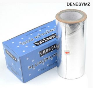 Roll UV Gel Polish Remover Foil Wrap Acetone Soak Off Nail Art Tool