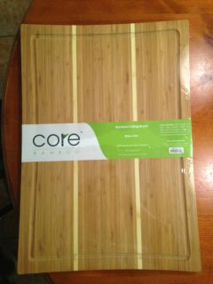 Core Bamboo Daffodil Collection Cutting Board Extra Large