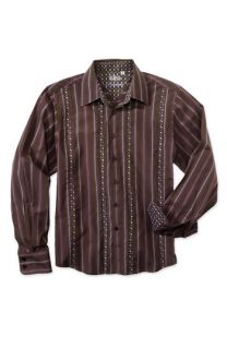 191 Unlimited Long Sleeve Stripe Dress Shirt (Big Boys)