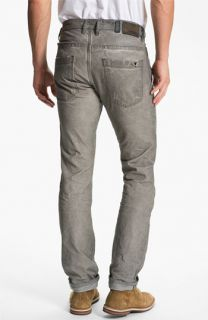DIESEL® Braddom Slim Tapered Leg Jeans (Chocolate Grey)