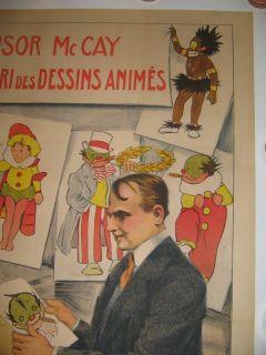 Little Nemo 1911 Winsor McCay Original French Cartoon Comic Book Movie