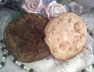 Silicone Large Chocolate Cookie Chip Soap Candle Mold