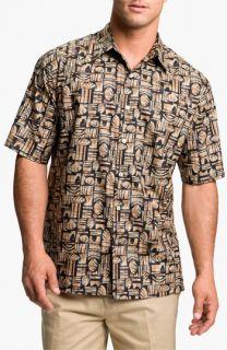 Tori Richard Ancient City Print Sport Shirt