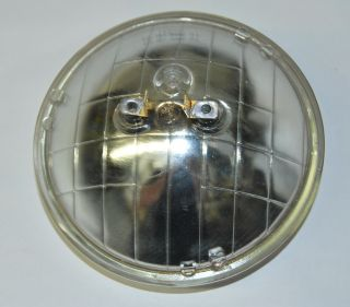Halogen Crystal Clear SEALED Beam Glass Headlight Headlamp