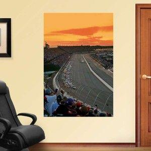 Darlington Raceway Mural NASCAR Fathead Wall Graphic