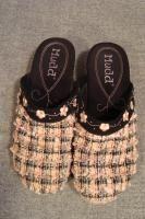 Womens Mudd Clogs Shoes Darryl Pink Black Plaid Size 7M