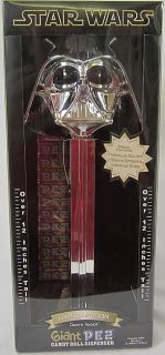 2005 Star Wars Limited Edition Darth Vader Giant Pez Candy Roll