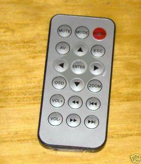 TR Y01 Unmarked DVD Video Remote Control