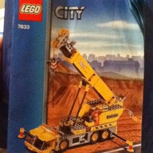 Lego City 7633 Crane Instructions Book Only