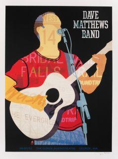 Dave Matthews Band Poster Gorge N2 9 1 12 Dave Matthews