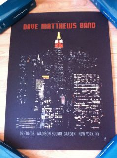 Dave Matthews Band Poster   Madison Square Garden, New York, NY   359