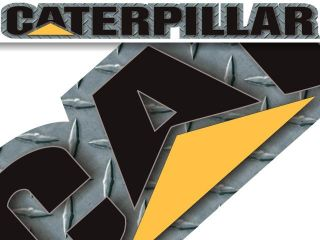 Caterpillar Cat Windshield Window Banner Decal Sticker Pickup 4x4 Big