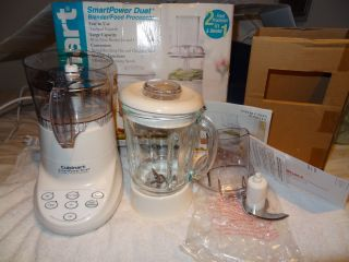 Cuisinart FPB 5pc SmartPower Duet Blender Food Processor