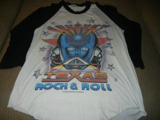 83 Frontiers Concert Shirt Dallas Austin Sanantonio Houston Med