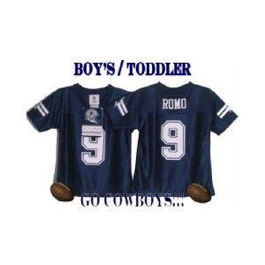 nwt dallas cowboys tony romo baby onesie jersey 18m