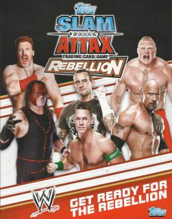 Topps WWE Slam Attax Rebellion Superstar Trading Card See Which Cards
