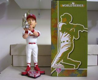 David Freese MVP Trophy Cardinals World Series Bobble Bobblehead from