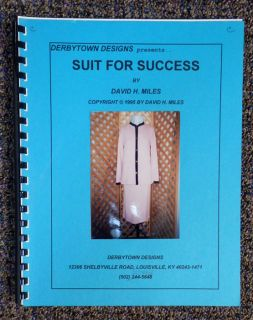 Suit for Success Pattern Book Knitting Machine by David H. Miles