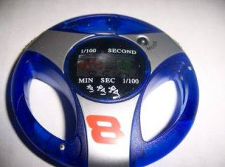 Dale Earnhardt 8 NASCAR Steering Wheel Stop Watch Home