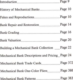 Antique Mechanical Coin Bank Book Price Guide Stevens