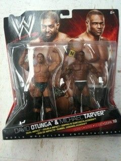 WWE Mattel Nexus David Otunga Michael Tarver 2 Pack