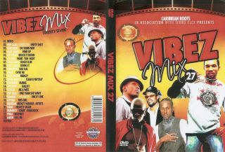 Vibes Mix 27 2012 Reggae Dancehall Hits Music Video DVD