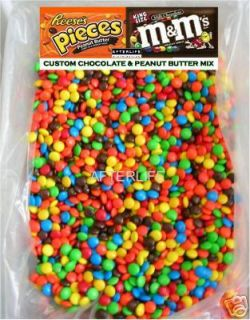 Custom Reeses Pieces M Ms Chocolates Bulk Vending Machine Candy mix
