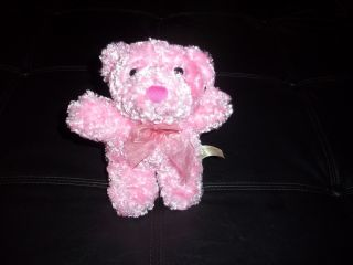Dan Dee Pink Teddy Bear Stuffed Plush Collectors Choice