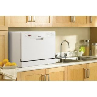New Danby Compact Portable Dishwasher 6 Place Settings Small Counter