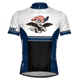 Military Primal Wear US Army Strong Cycling Jersey LG Bike Mens See