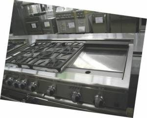 New DCS 48 Dual Fuel Range 5 Burners with Large Griddle
