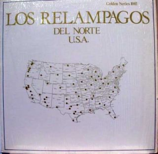 Los Relampagos Del Norte Golden Series 1001 LP Mint