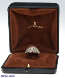 de grisogono de grisogono 18k rose gold diamonds rings b 39178 382