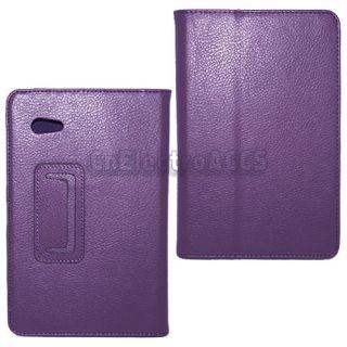 """Funda de Piel Cuero Para Samsung Galaxy Tab 2 7 0 7 0"""" P3100 P3110"""