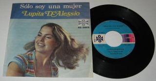 Lupita DAlessio Solo Soy Una Mujer Mexican Single 7