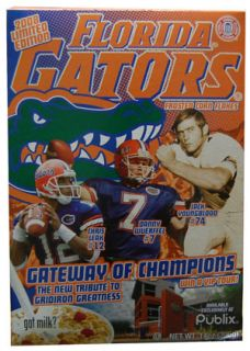 Gateway of Champions Florida Gators Frosted Corn Flakes (2008 Limited