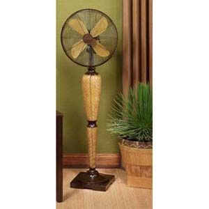 Deco Breeze 16 in Kailua Floor Standing Decorative Fan