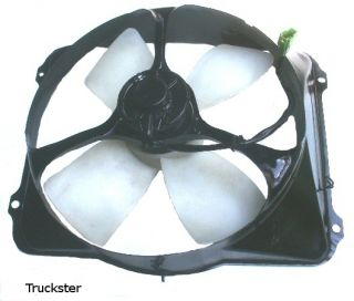 Cushman Truckster Engine Cooling Fan 327 Daihatsu