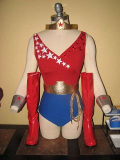 Wonder Girl Costume Debra Winger Lynda Carter Woman TV