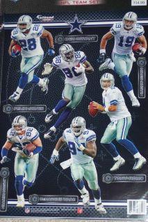 Dallas Cowboys Player Mini Fathead Official NFL Vinyl Wall Graphic