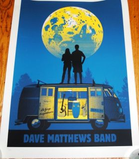 Dave Matthews Band DMB Gorge 2012 Poster MINT Never Removed from tube