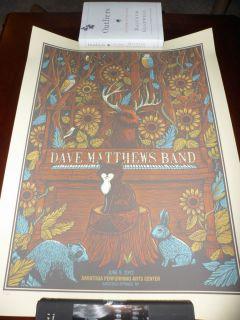 Dave Matthews Band Spac N2 6 9 12 Poster Saratoga Springs New York DMB