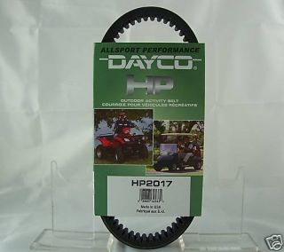 John Deere Dayco Drive Belt Trail Gator HPX HP2031 Replaces VG10928