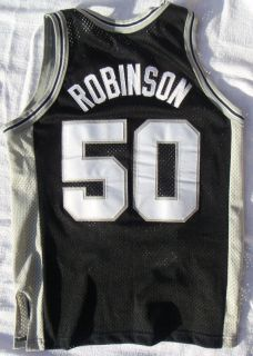 Retro San Antonio Spurs David Robinson 50 NBA Jersey