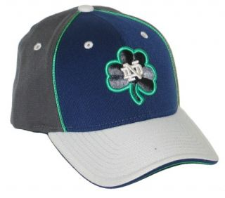 Notre Dame Fighting Irish ND Neon Adidas Flex Fit Fitted Hat Cap M L