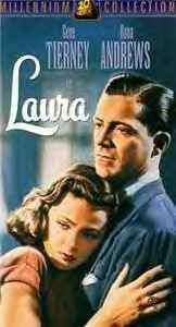 LAURA 1944 GENE TIERNEY & DANA ANDREWS ~ FILM NOIR CLASSIC ~ LikeNEW